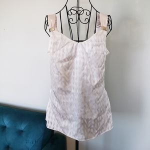 💝2 for $20💝 WHBM ivory and white tank top